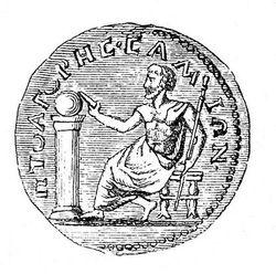 Монета пифагора как клеить марки
